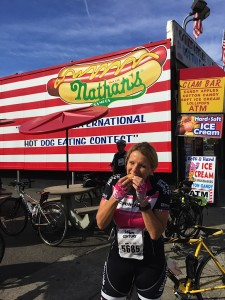 Nathan's original hotdog stand